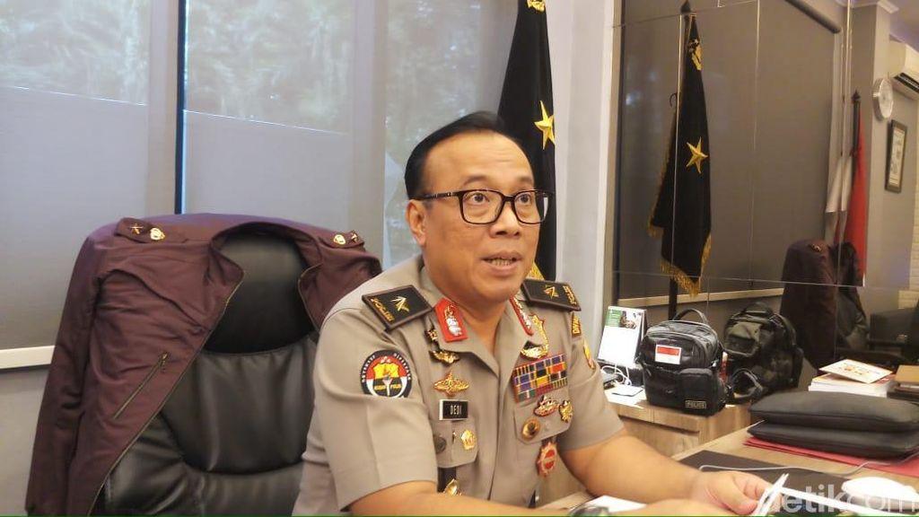 Polri Sebut Terduga Teroris Bogor Berencana Ledakkan Bom di KPU 22 Mei