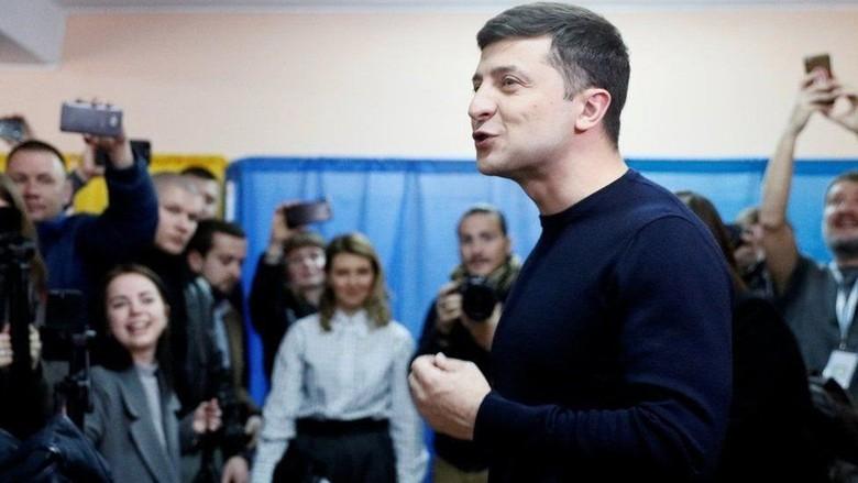 Pelawak Raih Suara Terbanyak dalam Pilpres Ukraina, Siapa Dia?