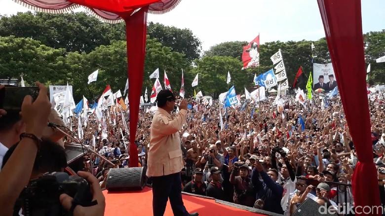 Jika Terpilih, Prabowo Janji Larang Keluarga Cari Kekayaan dari Jabatannya
