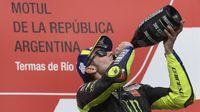 Gemilang di MotoGP Argentina, Rossi Dijagokan Rumah Taruhan Lagi