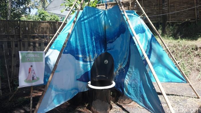Kalau ini toilet buat prianya. (Foto: Khadijah Nur Azizah/detikHealth)