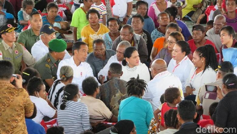 Saat Anak-Anak di Sentani Ingin Ikut Jokowi ke Jakarta