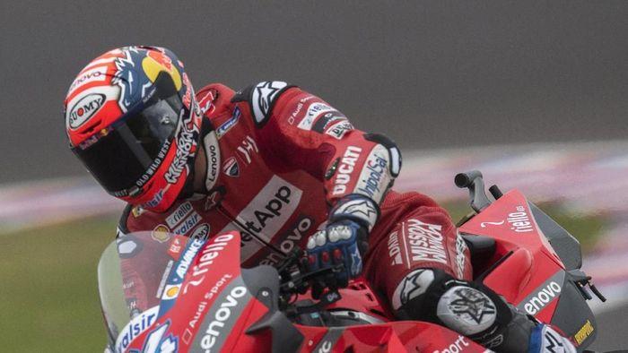 Andrea Dovizoso finis keempat di MotoGP Amerika Serikat. (Foto: Mirco Lazzari gp/Getty Images)