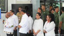 Jokowi Saksikan MoU Pemulihan Gunung Cyloop Papua