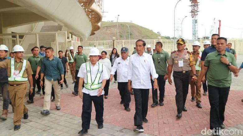 Jokowi Cek Persiapan Papua Jadi Tuan Rumah PON Ke-20