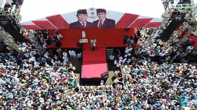 Kampanye Prabowo Subianto di Banyumas. Foto: Dok BPN Prabowo-Sandiaga