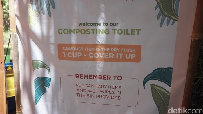 Kamu nggak akan menemukan air kalau mampir ke toilet ini. (Foto: Khadijah Nur Azizah/detikHealth)