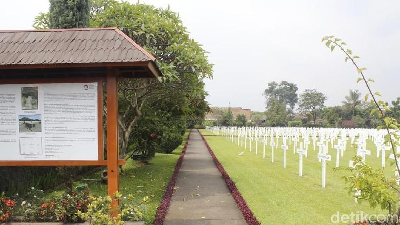Makam Belanda di Cimahi (Yudha Maulana/detikcom)
