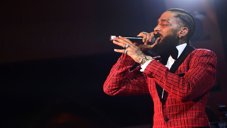 Nipsey Hussle. Foto: Matt Winkelmeyer/Getty Images for Warner Music