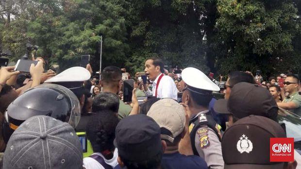 Jokowi Arahkan Pemulihan Kawasan Pascabanjir Bandang Sentani