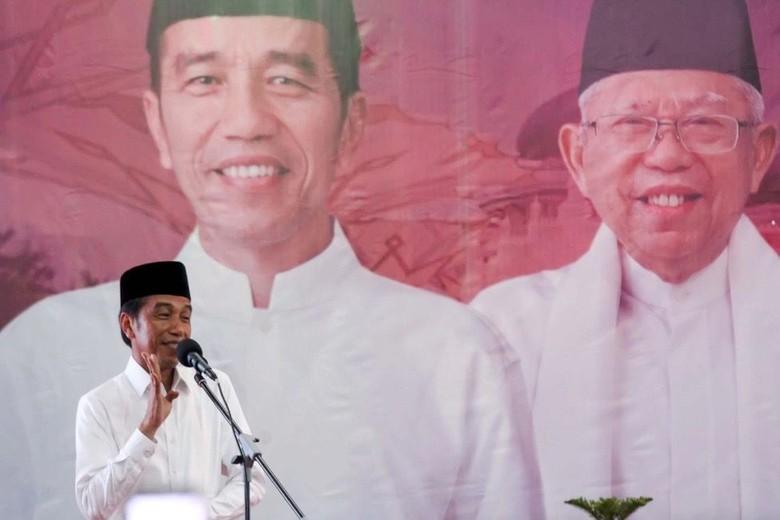 Hasil Survei 6 Lembaga Tunjukkan Jokowi-Maruf Unggul