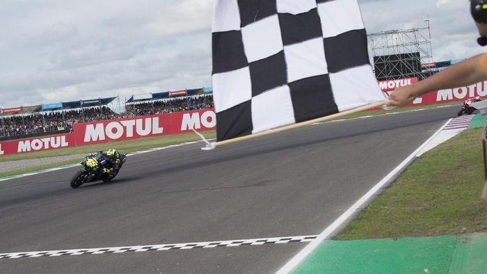 Valentino Rossi dibayangi hasil buruk dalam dua tahun terakhir di MotoGP Spanyol. (Foto: Mirco Lazzari gp/Getty Images)