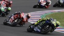 Marquez Superior di MotoGP Argentina, Rossi Asapi Dovizioso