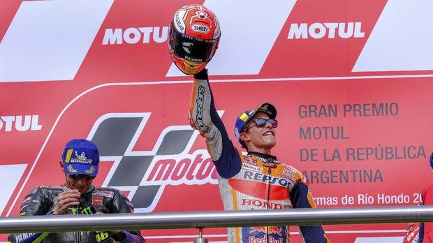 Marc Marquez kembali jadi pebalap yang diburu di MotoGP Amerika Serikat.