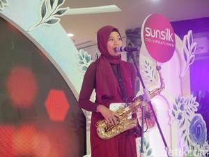 Mengenal Tissa, Finalis Sunsilk Hijab Hunt 2019 yang Jago Main Saksofon