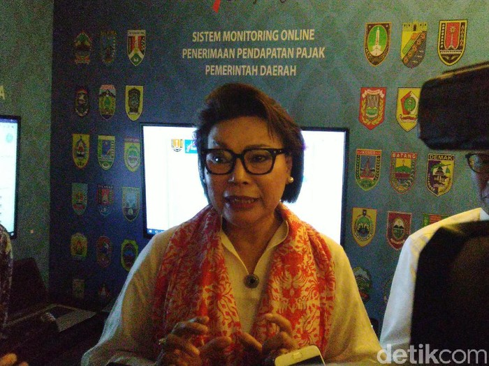 Wakil Ketua KPK Basaria Pandjaitan di Semarang, Senin (1/4/2019).