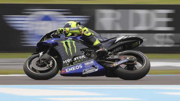 Valentino Rossi kini ada di posisi kedua klasemen MotoGP 2019.