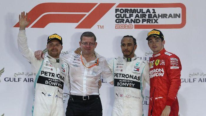 Mercedes mengkhawatirkan kebangkitan Ferrari di GP China. (Foto: Hamad I Mohammed / Reuters)