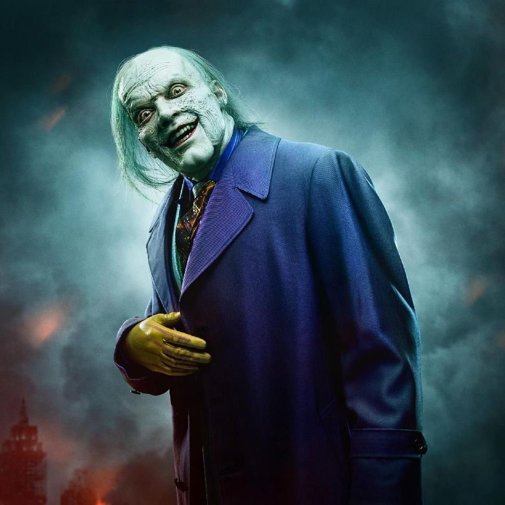 Wajah Hancur Joker di Promo Serial Gotham