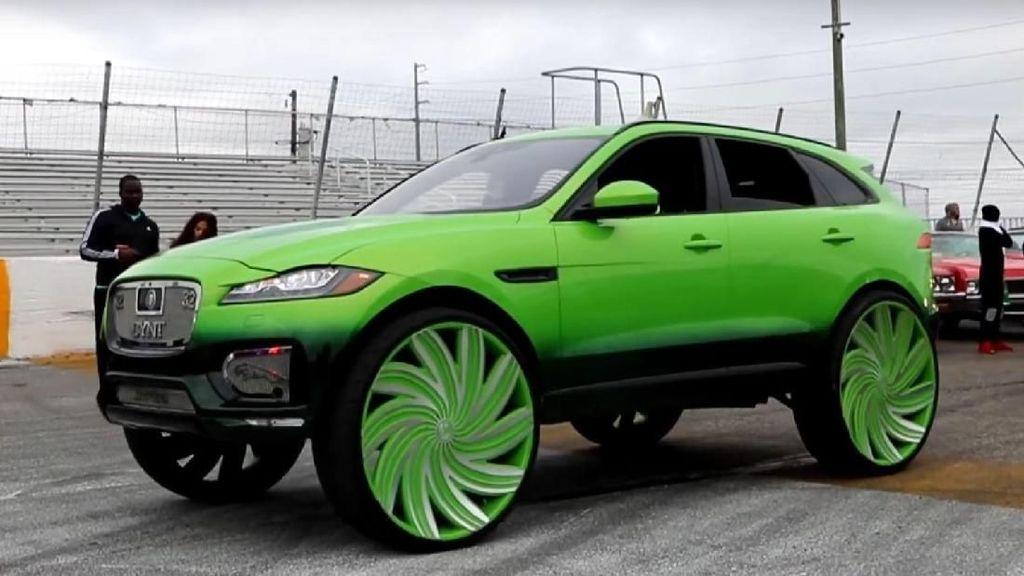 Wah Gila Sih! Pelek Raksasa Jaguar, 32 Inci