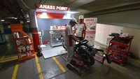 PT Wahana Makmur Sejati meluncurkan AHASS Point di Pusat Grosir Cililitan, Jakarta Timur.Istimewa/Wahana Makmur Sejati