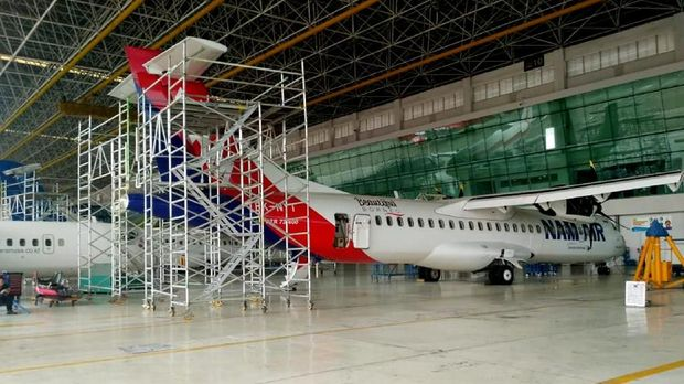 Teken Perjanjian, GMF Layani Perbaikan Komponen Airbus