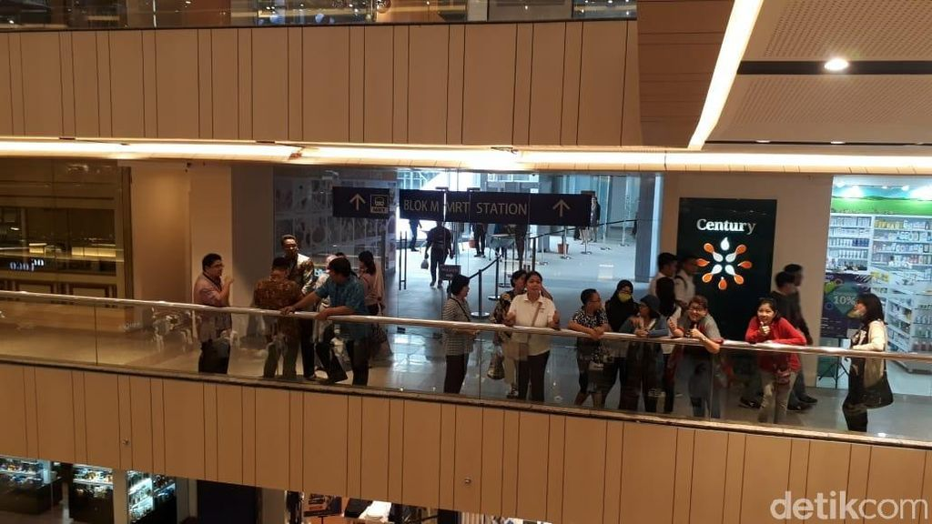 MRT Jakarta bakal Bangkitkan Tempat-tempat Lain Seperti Blok M Plaza