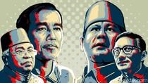 Hasil Sementara KPU di Sumut: Jokowi Kuasai 17 Wilayah, Prabowo Unggul di 16