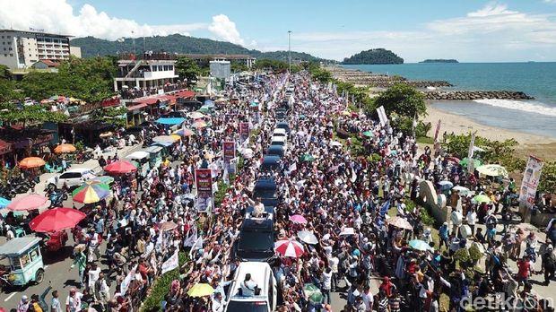 Kampanye Prabowo di Sumbar