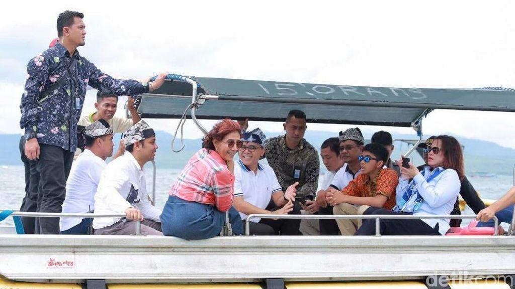 Menteri Susi Klaim Terumbu Karang yang Bagus di Indonesia Kurang dari 50%