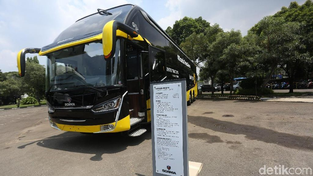 Hino, Scania, Mercy, Volvo: Mana Bus yang Paling Nyaman?
