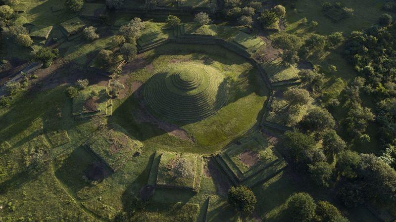Guachimontones merupakan situs sejarah yang berlokasi di dekat Teuchitlan, Meksiko, sekitar 1 jam dari pusat Kota Guadalajara. Di area ini terdapat reruntuhan piramida melingkar peninggalan masa lalu (iStock)