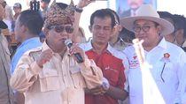 Janji Tak Impor Beras, Prabowo Bandingkan Petani RI dengan Jepang