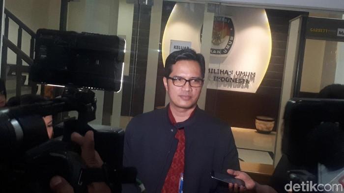 Kabiro Humas KPK Febri Diansyah. (Foto: Dwi Andayani/ detikcom)