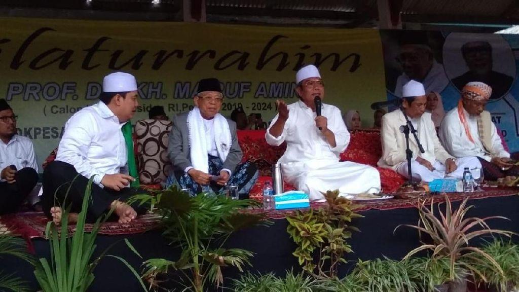 Maruf Amin Kunjungi Ponpes Ath-Thahiriyah Lombok