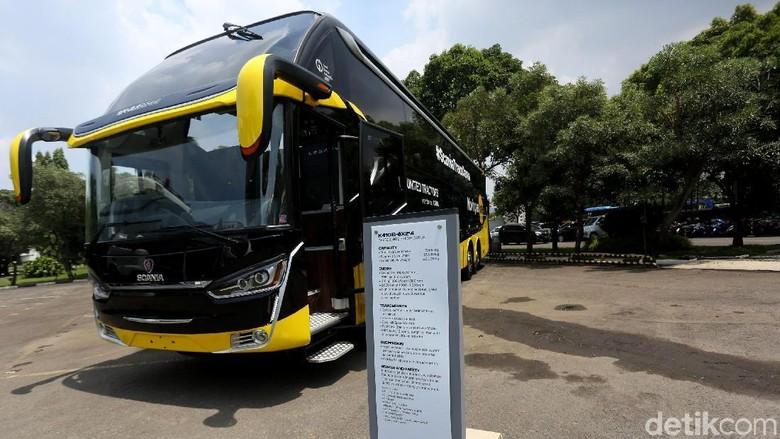 Ilustrasi Bus Foto: Agung Pambudhy