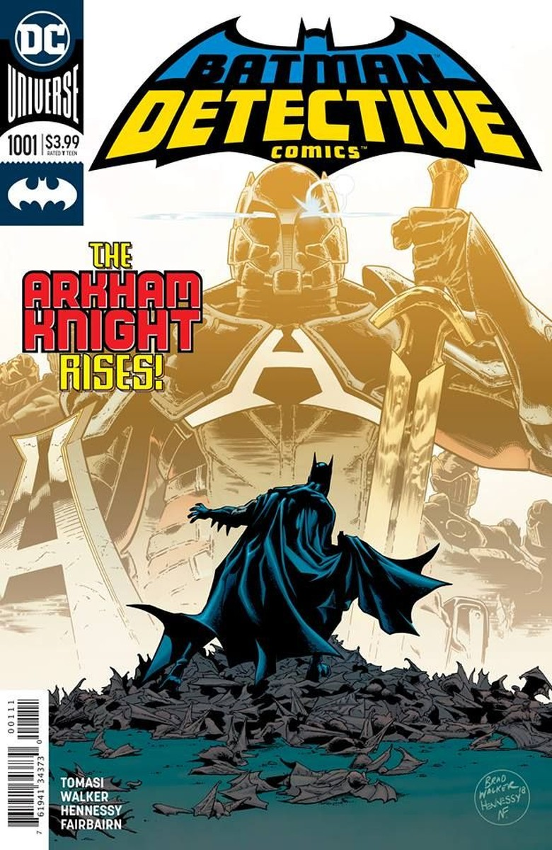 Batman Dibuat Logo Baru, Seperti Apa? Foto: Istimewa