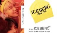 Sang leader, RM terlihat bergaya dengan topi kuning atau beanie seharga Rp 2 juta.Dok. Twitter/getonswag