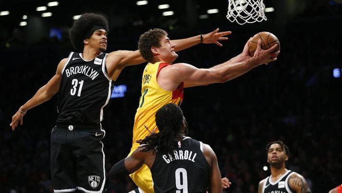 Milwaukee Bucks kalahkan Brooklyn Nets (Noah K. Murray-USA TODAY Sports)