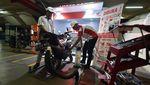 Bengkel Motor di Parkiran Park and Ride TransJakarta