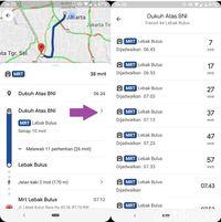 Begini Cara Pantau Jadwa Kereta MRT di Ponsel