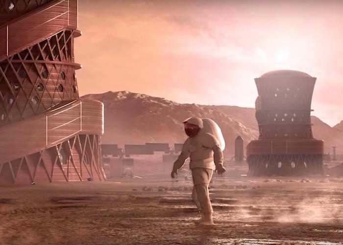 Pemenang Rumah di Mars