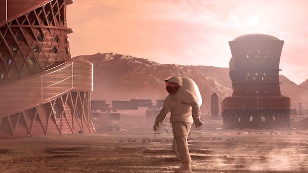 Butuh 110 Manusia untuk Memulai Peradaban di Planet Mars