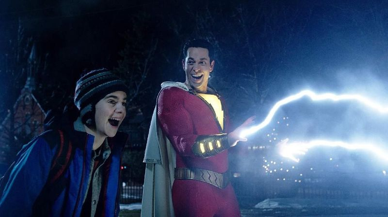 Rocky Steps masuk dalam adegan film superhero DC Shazam! (dok Warner Bros)