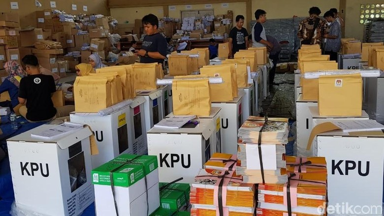 Rekapitulasi Kabupaten Kulon Progo Rampung, Jokowi Ungguli Prabowo