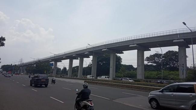 Fakta Jalur LRT Cibubur-Cawang Sudah Tersambung