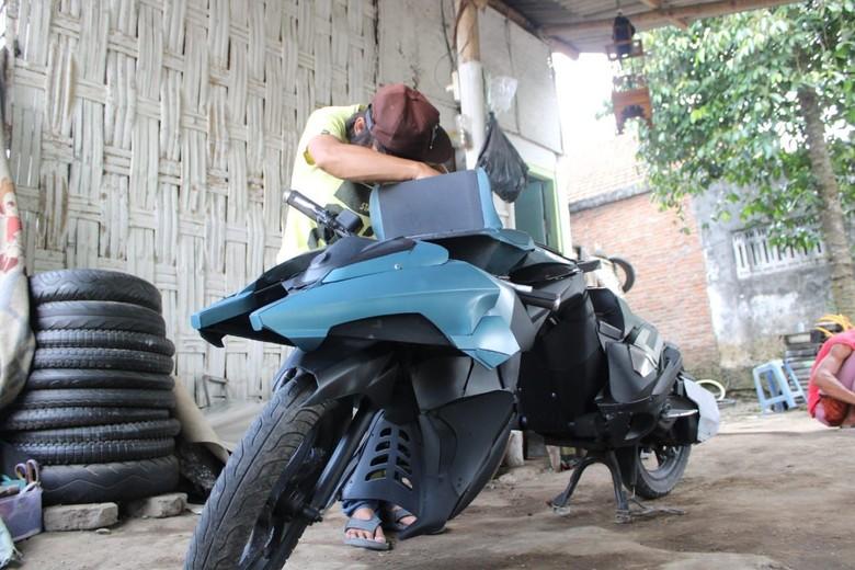 Batpod buatan warga Jombang. Foto: Enggran Eko Budianto
