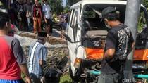 Kecelakaan di Jalan Raya Jember-Bondowoso, 4 Orang Luka Parah