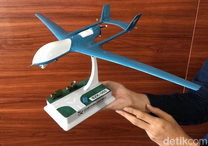 Ini dia miniatur drone yang diproduksi pabrik Beihang asal China. Untuk tahap awal, bakal ada 3 unit drone yang akan dioperasikan.