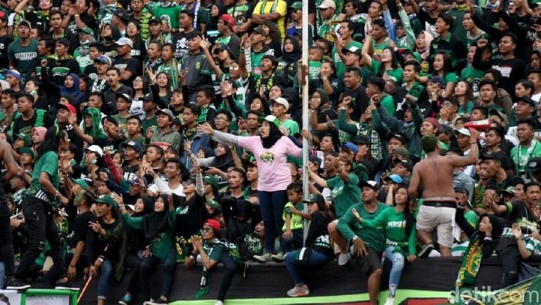 Rayu Bonek Agar Tidak ke Malang, Polisi Gelar Nobar di Surabaya